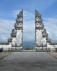 The split gate to Heavens in Pura Lempuyang temple, Bali, Indonesia.