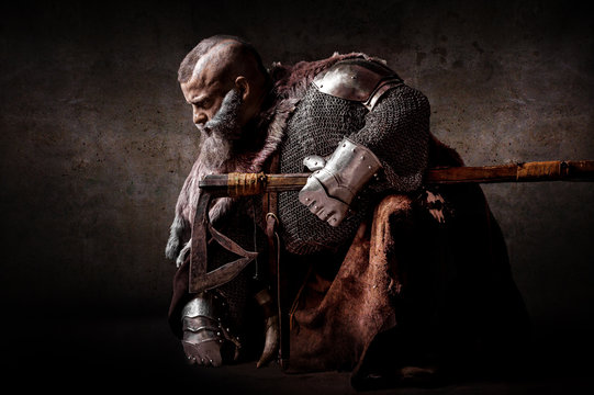 Portrait of a dwarf