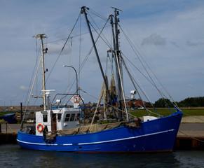fishing vessel in Tönning / Eider