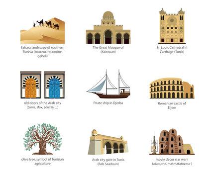 Symbol of tunisia