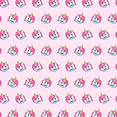 Unicorn - emoji pattern 23