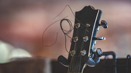 Guitar Neck Black