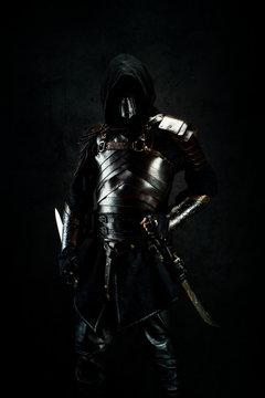 Portrait of an oriental assassin
