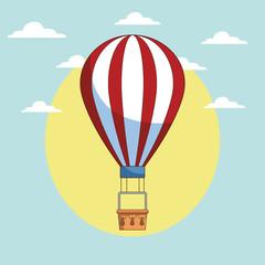 hor air balloon cartoon