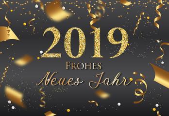 Frohes neues Jahr 2019 - Neujahr 2019