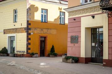 Sanok town - the birthplace of Zdzislaw Beksinski