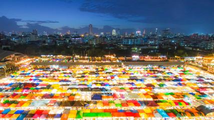 Train Night Market Ratchada - Thailand