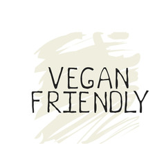 Vegan friendly label and high quality product badges. Bio Home made food Organic product Pure healthy Eco food organic, bio and natural product icon. Emblems for cafe, packaging etc. Vector