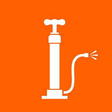 Air pump vector icon