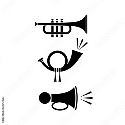 Sound horn icon