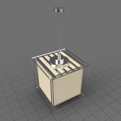 Modern cube lamp