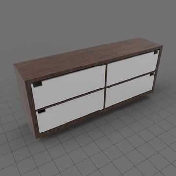 Modern dresser