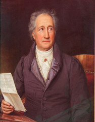 Johann Wolfgang von Goethe - Portrait (1882)