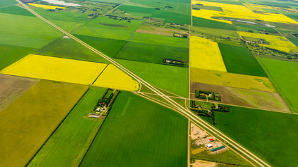 Saskatchewan Farms Fotoväggar