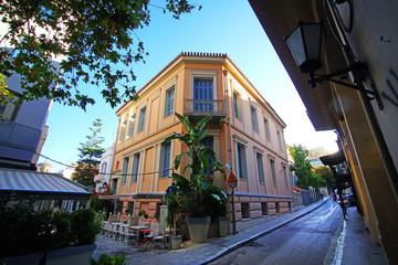 Neoclassical palace in the Plaka district