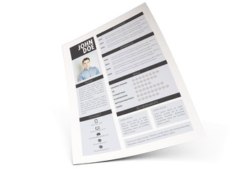 Vertical Resume Layout
