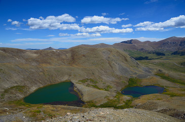 Lakes on Square Top Mountain in Colorado