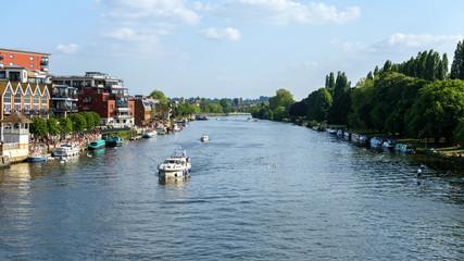 Kingston upon Thames, sailing boats, London, United Kingdom, May 21, 2018
