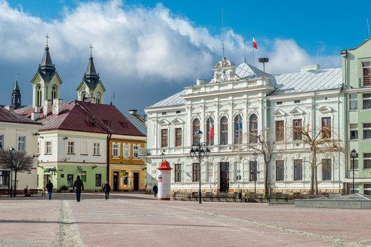 famous Sanok town in Poland where Zdzislaw Beksinski was born.