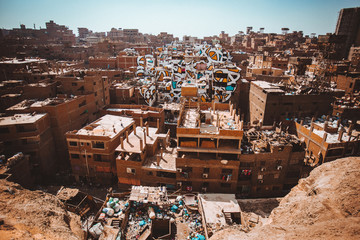 A neighborhood in Egypt