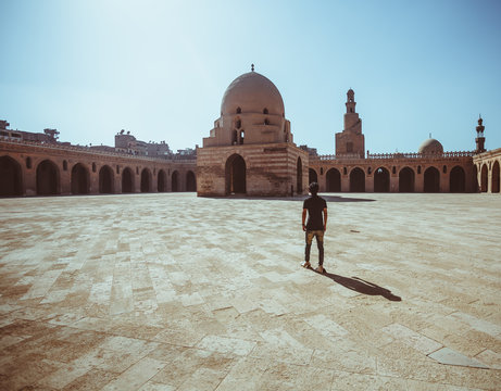 Mosque of Ibn Tulun in Cairo, Egypt