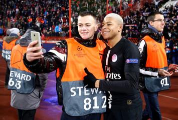 Champions League - Group Stage - Group C - Crvena Zvezda v Paris St Germain