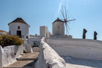 Oia - Santorini Cyclades Island - Aegean sea - Greece