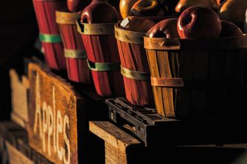 winter's harvest apple baskets