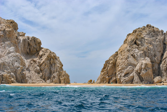 love beach in Los Cabos Baja California Sur Mexico