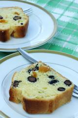 お正月のお菓子 黒豆のパウンドケーキ