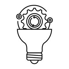 bulb light with gears settings
