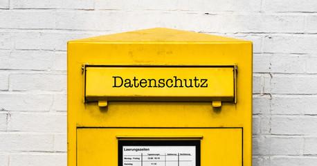 Datenschutz Briefkasten