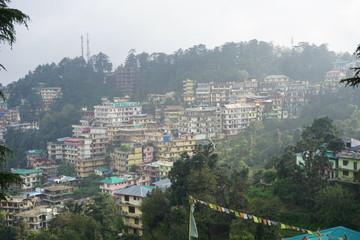 mountain town in Himachal Pradesh, India