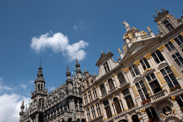 The Grand Place in in Brussels, Belgium