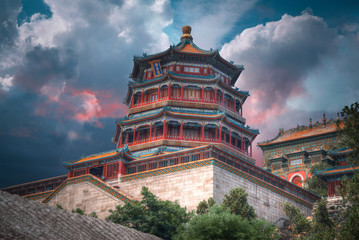 Summer Imperial Palace on the outskirts of Beijing
