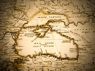 古地図 黒海周辺地域