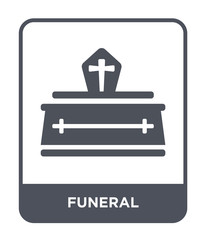 funeral icon vector
