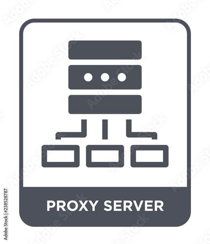 proxy server icon vector