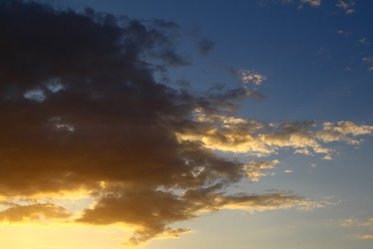 nice colorful sunset or sunrise clouds for using in design as background.