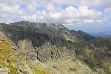 mountain landscape in Hight Tatras