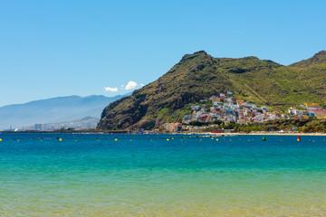 Beautiful view on San Andres near Santa Cruz de Tenerife Canary Islands, Spain