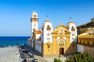 beautiful Basilica de Candelaria church Tenerife, Canary Islands, Spain