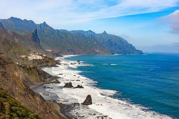 ocean shore near Almaciga, Anaga, Tenerife