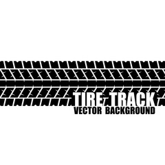 Black text tire track