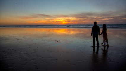 Coucher de soleil - Agadir - Maroc