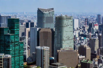 Japan, Tokyo, City view