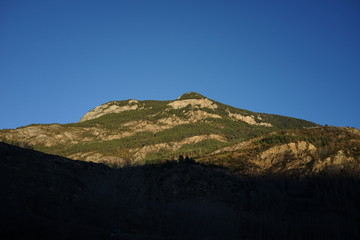 Mountain in Benasque, Huesca. Spain