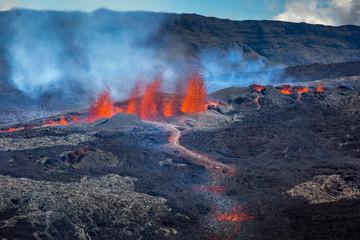 Volcan - Cratère Rivals - Piton de Bert