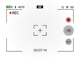 smartphone horizontal camera viewfinder