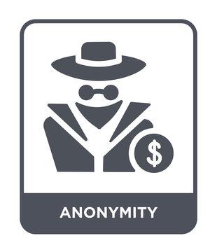 anonymity icon vector